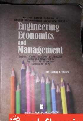 ENGINEERING ECONOMICS AND MANAGEMENT GTU