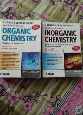 Organic and inorganic success guide S.Chand