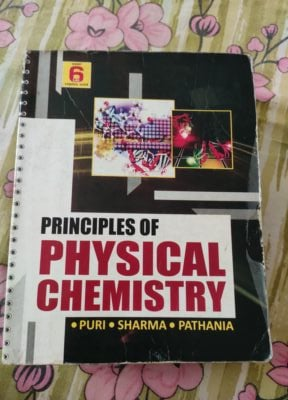 Priciples of physical chemistry