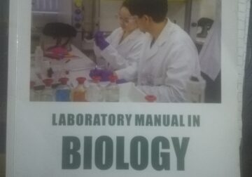 Comprehensive Laboratory Manual in Biology